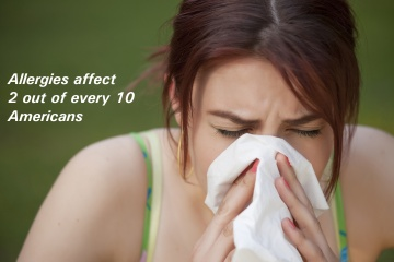 allergy sufferer